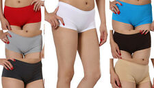 SEAMLESS DANCE EXERCISE BOOTY ONE SIZE MINI PANTIES BOY SHORTS BRIEFS SPANKIES