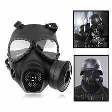 Airsoft Anti Fog Turbo Fan System Full Face Protector Gas Mask Wargame Paintball