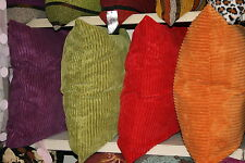 "Large Super Soft Ribbed Cushion Covers ***FREE P&P*** 60cm x 60cm (24"" x 24"")"