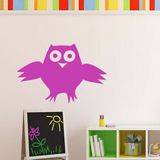 Cartoon Owl Wall Stickers Children's Bedroom Wall Decal Art