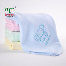 """MMY Brand Bamboo Baby Receiving Blanket Embroidered Animal Bedding Sets 51""""*51"""""""