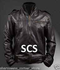 Air Force Bomber Jacket with Mock Collar Details