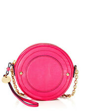 Juicy Couture Handbags Sierra 'Lizard' Leather Mod Crossbody Pink/Black-NWT $128