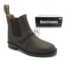 GENUINE WOMENS WAXY BROWN LEATHER DEALER JODHPUR BOOTS SIZE 4-8 NEXTDAY DELIVERY