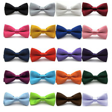 Baby Boy Kid Children Child Pre Tied Party Wedding Tuxedo Bowties Tie Necktie