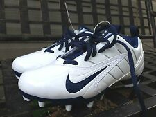 New Nike Speed LAX Lacrosse Football Rugby White Cleats Womens Sizes reg. $120