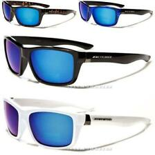 NEW SUNGLASSES BLACK MENS LADIES WOMENS SPORTS MIRRORED WRAP LARGE RETRO VINTAGE
