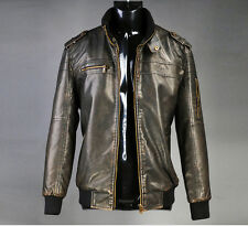 AFS Jeep 2014 Spring New Men's Youth Motorcycle Leather Fashion Jacket