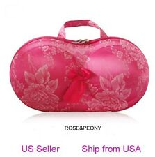 Portable Protect Bra Underwear Lingerie Case Travel Organizer-Bling Beads USA