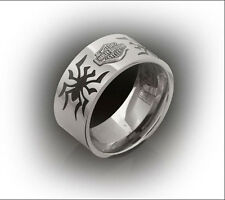 Women's Harley Davidson HD Stainless Steel Ring Spider Band