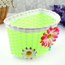 Retro Front Bicycle Bike Flower Basket Shopping Stabilizers Children Kids New HS