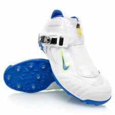 Mens Nike Zoom Javelin Elite Spikes Cleats sz 15 White Volt Blue 315762 shoes