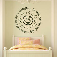 Jesus Wants Me For A Sunbeam Wall Sticker Religious Wall Decal Art