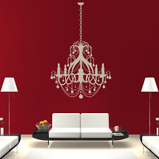 Grand Chandelier Wall Sticker Decorative Wall Decal Art