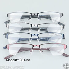 1981 high quality optical frames Metal eyeglasses rectangle RX eyewear glasses