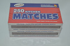 Strike On Box Wooden Matches Kitchen or Barbeque & Fireplace Safety Matches