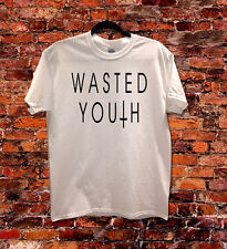 WASTED YOUTH CROSS INVERTED HIPSTER INDIE SWAG FUNNY T SHIRT MEN WOMEN KIDS