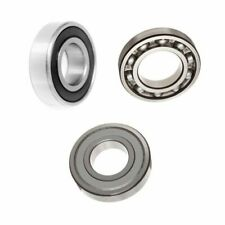 SKF 6200 Series C3 Clearance 2RS, ZZ & OPEN Metric Ball Bearing Choose Size: