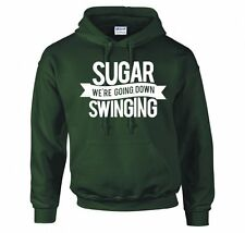 "FALL OUT BOY ""SUGAR WE'RE GOING DOWN SWINGING"" HOODIE NEW"