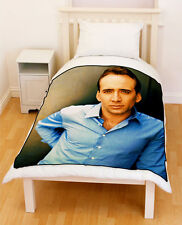 Nicholas Cage Fleece Blanket / Fleece Throw Medium & LARGE
