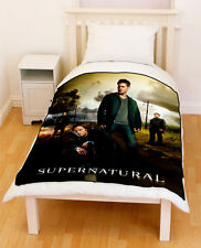 Supernatural Sam Dean Winchester Castiel Fleece Blanket / Fleece Throw 002