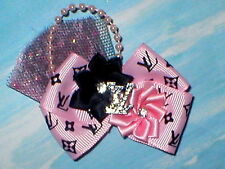 Famous Favorite Fancy Boutique Dog Hair bow for Yorkie, Maltese baby headband