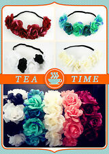 NEW Summer fashion BoHo  Floral Flower  headband hair Garland for Wedding Party