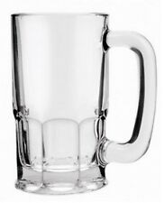 Anchor Hocking 83102 Large GUSTO 1 Litre Glass Pint Beer Mug Glass Beer Tankard