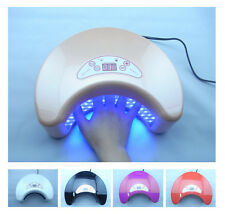 18W/12W LED Nail Art Lamp Dryer Gel Polish Curing Acrylic Auto Detection , light