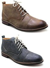 Ferro Aldo Mens Ankle Boots Lace Up Leather Lined Dress / Casual Shoes