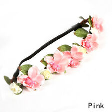 New Bohemian Floral Flower Rose Party Wedding Hair Wreaths Headband Hair Band