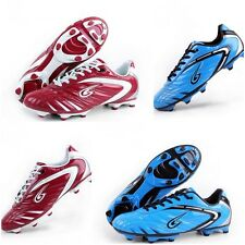 Football Shoe Men Women Soccer Shoes Shockproof PU leather for Brasil World Cup