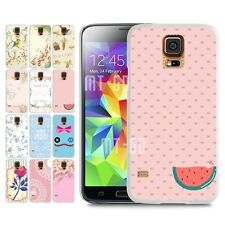 Free Shipping Pink Watermelon Case Cover For Samsung galaxy S5 i9600 G900