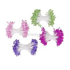 170pcs Artificial Floral Stamens Craft Wire Flower Stamen Pearl Double Tip