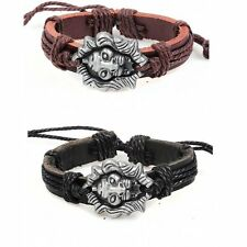 Game of Thrones mens genuine leather house Lannister wristband bracelet
