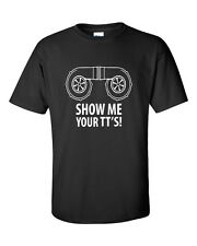 SHOW ME YOUR TT'S FUNNY BOOST SUBARU STI IMPORT TURBO AUDI GRAPHIC TEE T-SHIRT