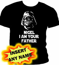 STAR WARS DARTH VADER I AM YOUR FATHER T-SHIRT