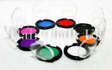 HAIR CHALK UK- Compact Red, Pink, Purple, Blue, Green, White, Orange & Black