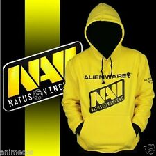 Casual Natus Vincere NAVI Cosplay Top Grade Yellow Hoodie Coat Sweater Outwear