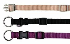 NEW Trixie Premium Nylon Dog Puppy Collar Fully Adjustable Colour / Size Choice