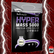 BIOTECH USA HYPER MASS 5000 GAINER 4000g - 4KG PROTEIN CARBOHYDRATE CREATINE TOP