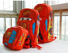 NWT Children Disney Pixar Cars McQueen Boy Girl's Backpack Preschool Bag