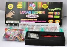 Rainbow Loom Kit With 600 Mixed Colored Rubber Bands Crafts DIY Gifts