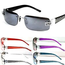 New Mens Womens DG Sunglasses Designer Shades Fashion Rimless Small Rectangular