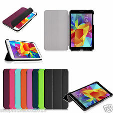 "Folio Slim Shell Case Stand Cover for Samsung Galaxy Tab 4 8 8.0"" Inch SM-T330NU"