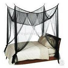 4(four) Corner Post Canopy Bed Netting Mosquito Net Full Queen King Size Bed