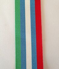 United Nations Full Size Medal Ribbon, UN Bosnia, UNMIBH, Military, Army