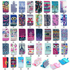 Fashion Flip Printed Design PU Leather Wallet Stand Case Cover For Motorola G