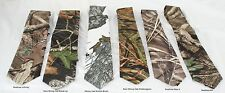 Infinity, New Mossy Oak Breakup, Winter Branch, Shadowgrass, Max-4 camo Neck tie