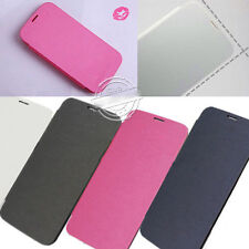 NEW FLIP PU LEATHER BACK BATTERY CASE COVER FOR SAMSUNG GALAXY SV S5 I9600